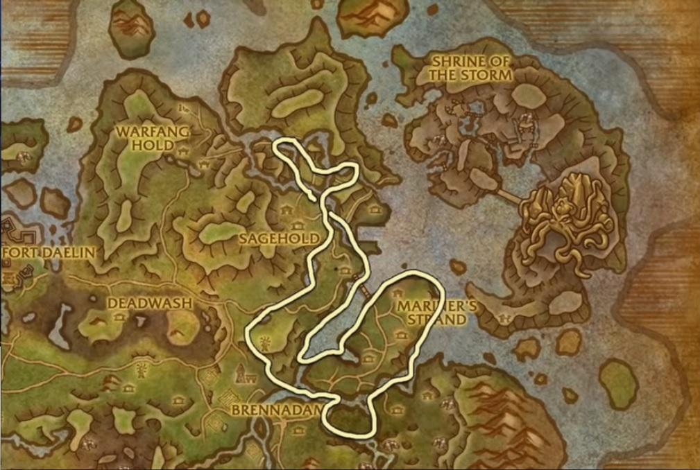 Best Locations for Anchor Weed Farm in BFA - World of Warcraft
