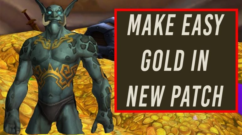 Recommended Gold Farming Methods in Patch 8.1.5