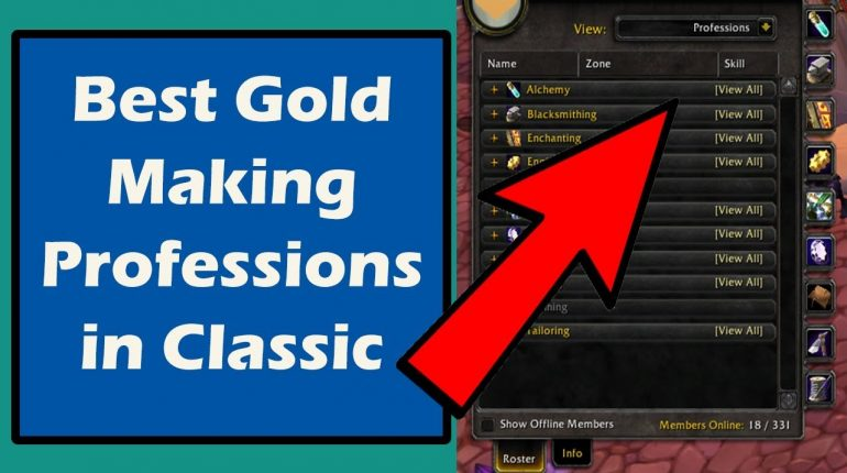 WoW Classic Best Gold Making Professions