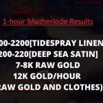 Deep Sea Satin Farm, Where to Farm Deep Sea Satin 200k Gold/Hour